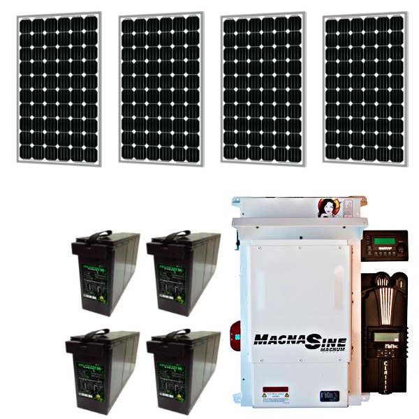 matrix magnum off-grid 4 solar kit