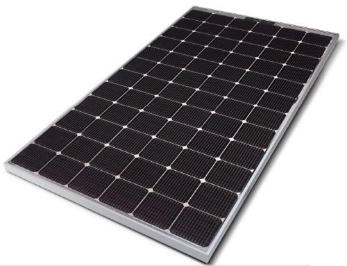 lg bifacial solar module 390w lg390n2t-a5