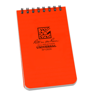 rite in the rain or35 orange pocket notebook