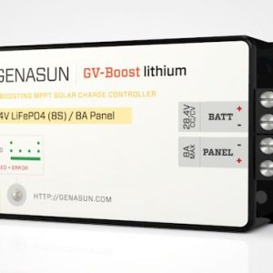genasun gvb-8-Li_41.7 solar charge controller for lithium