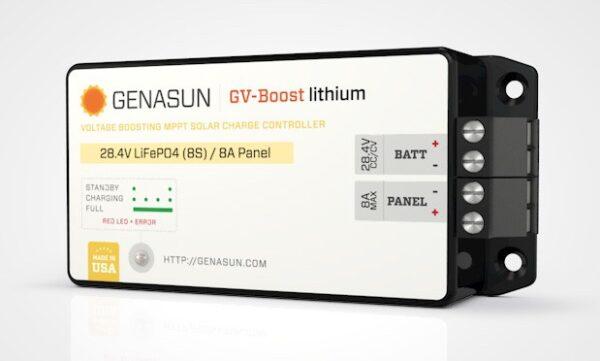 genasun gvb-8-Li_41.7 solar charge controller for lithium