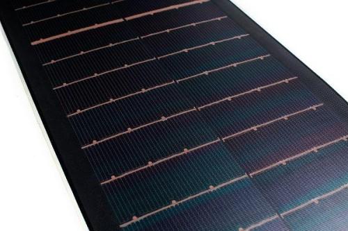 global solar PowerFLEX cigs cells close