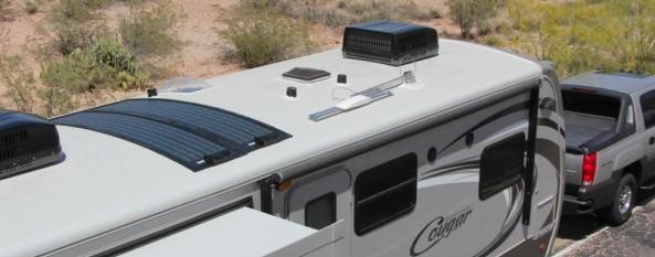 global solar PowerFLEX rv roof