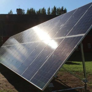 2 tier ground mount solar