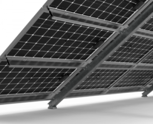 titan lite fixed solar ground mount bifacial