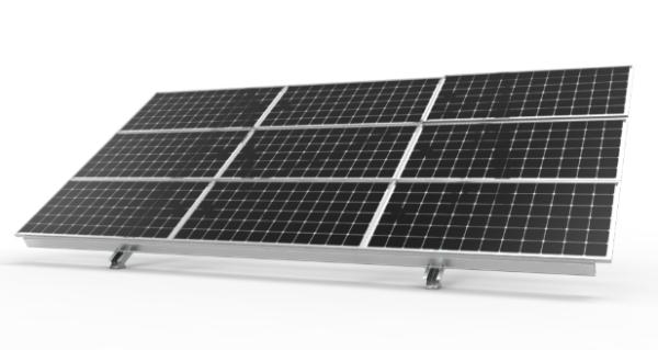 titan lite fixed solar ground mount