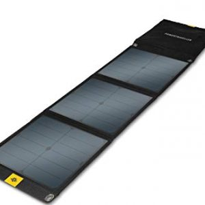 powertraveller falcon 40 solar panel open