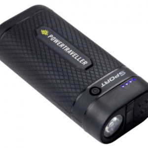 powertraveller sport 25 usb battery pack led