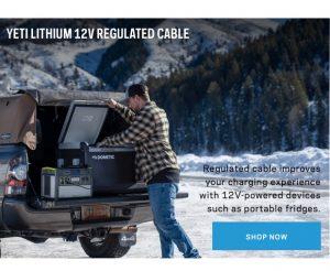 goal zero 98078 regulated 12v fridge truck