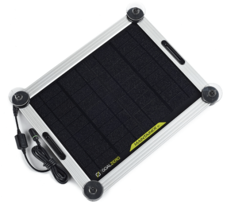 goal zero maintainer 10 solar trickle charger