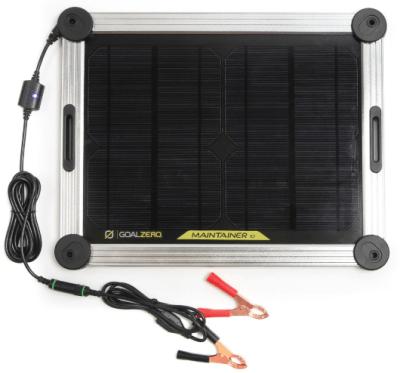 goal zero maintainer 10 solar trickle charger alligator clip
