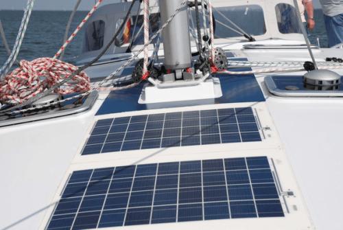 Marine solar panels boat pv
