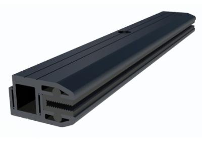 ironridge frameless module end clamp