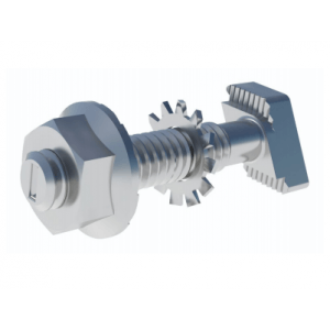 ironridge frameless hardware t-bolt