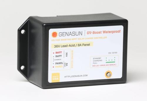 genasun gvb-8-wp solar boost controller