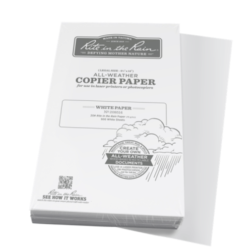 rite 208514 legal 85x14 waterproof paper
