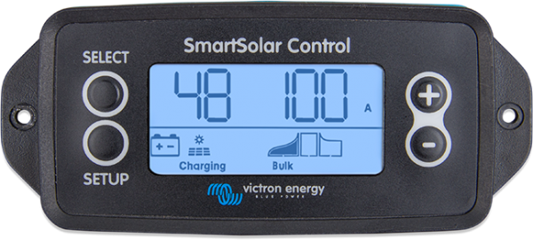 victron smartsolar control display