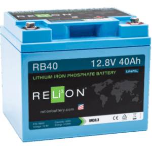 relion RB40 40ahr, 12v lfp battery