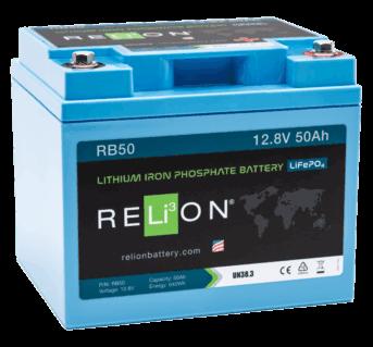 relion RB50 50ahr 12v LFP battery