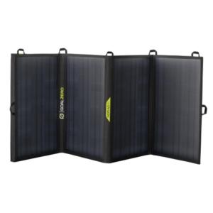 goal zero nomad 50 solar panel open
