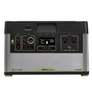 goal zero Yeti 1000X portable lithium power station
