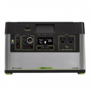 goal zero Yeti 1500X portable lithium power station