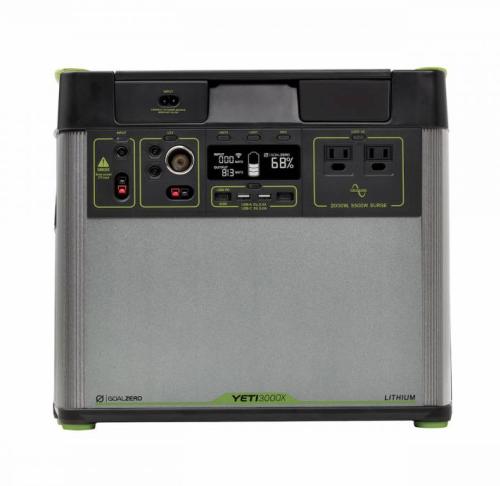 goal zero Yeti 3000X portable lithium power station