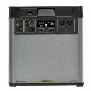 goal zero Yeti 6000X portable lithium power station