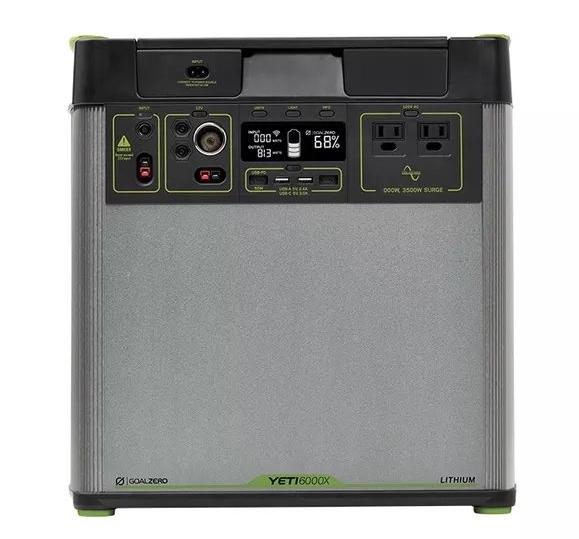 goal zero Yeti 6000X portable lithium power station