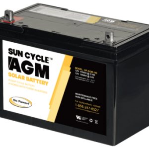 Go power AGM battery 100ah 12v