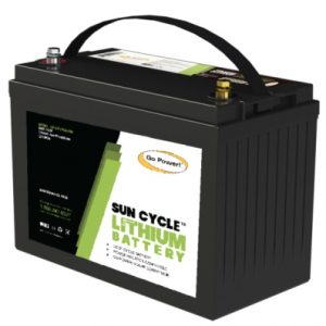 gp 100Ah lithium lfp solar battery