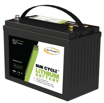 gp 100Ah lithium lfp solar battery