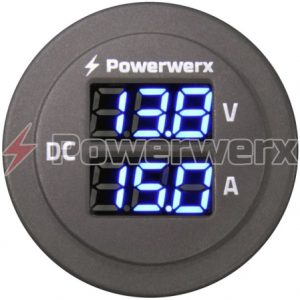 powerwerx panelamp combo amp volt meter