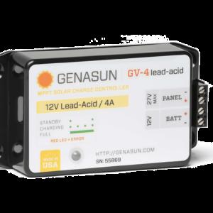genasun GV-4-pb-12 solar charge controller