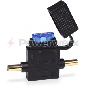 crimpable inline atc ato blade fuse holder