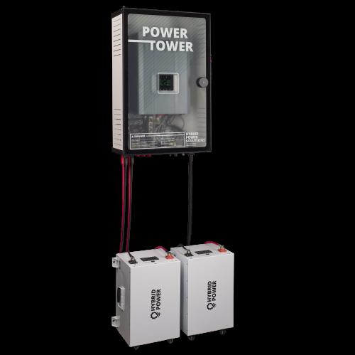 HPS Power Tower Full side