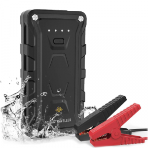 powertraveller Redstart 50 battery splash
