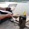 powertraveller condor 100 portable laptop battery solar