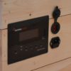 Modern Outpost Socrates-1200 power system input and inverter control panel
