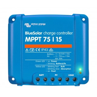 victron bluesolar mppt 75_15 charge controller