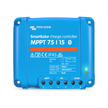 victron smartsolar mppt 75-15 charge controller