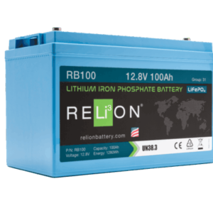 Relion RB100 lithium group 31 battery