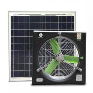 snap-fan 16-inch greenhouse solar fan kit 9916