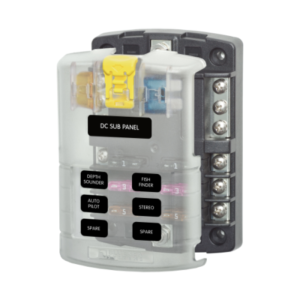 Blus Sea 5025 6-circuit dc fuse panel