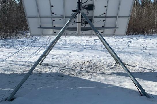 benj-mech quad pod pole mount base mt8