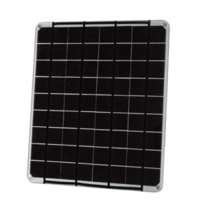 voltaic 9W 18V solar panel Silver